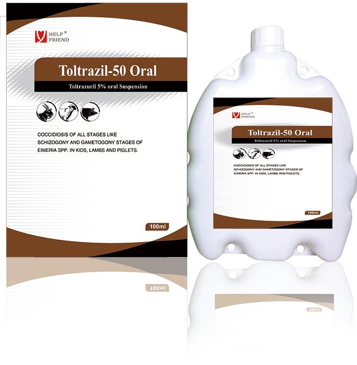 Toltrazuril 5% oral Suspensio